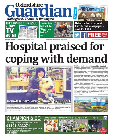c924b1a52857 18 february 2016 oxfordshire guardian wallingford by Taylor ...