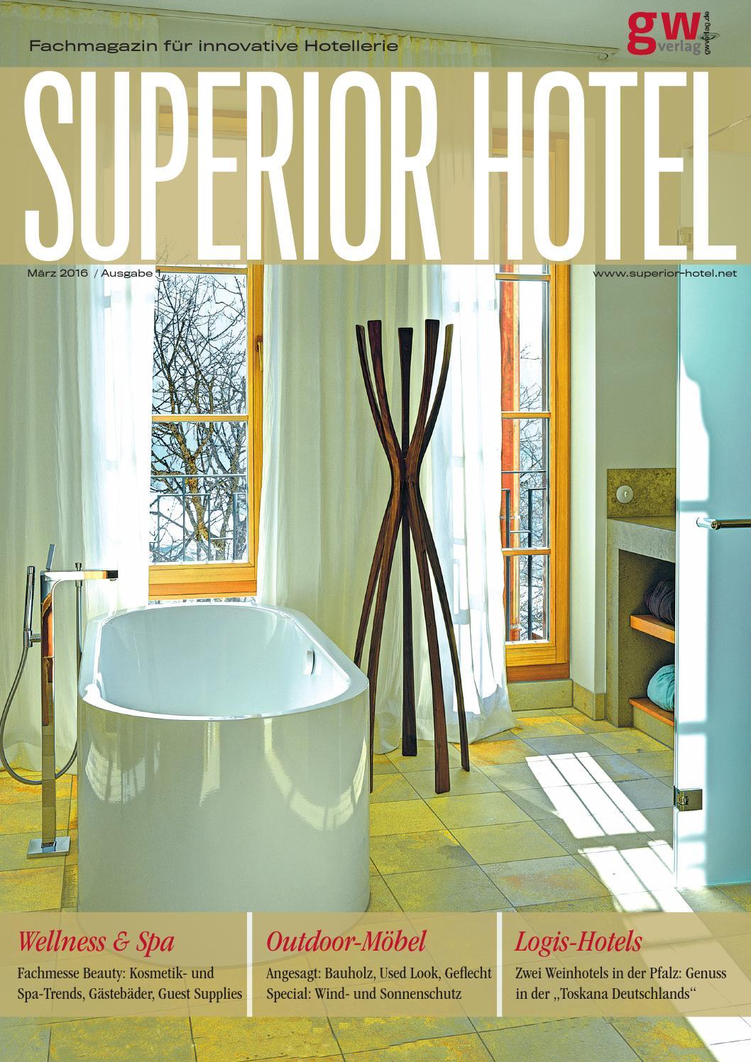 Superior Hotel 1/2016 by GW VERLAG - issuu