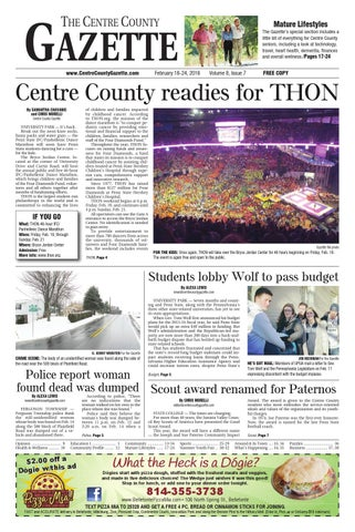 2 18 16 Centre County Gazette By Indiana Printing Publishing Issuu