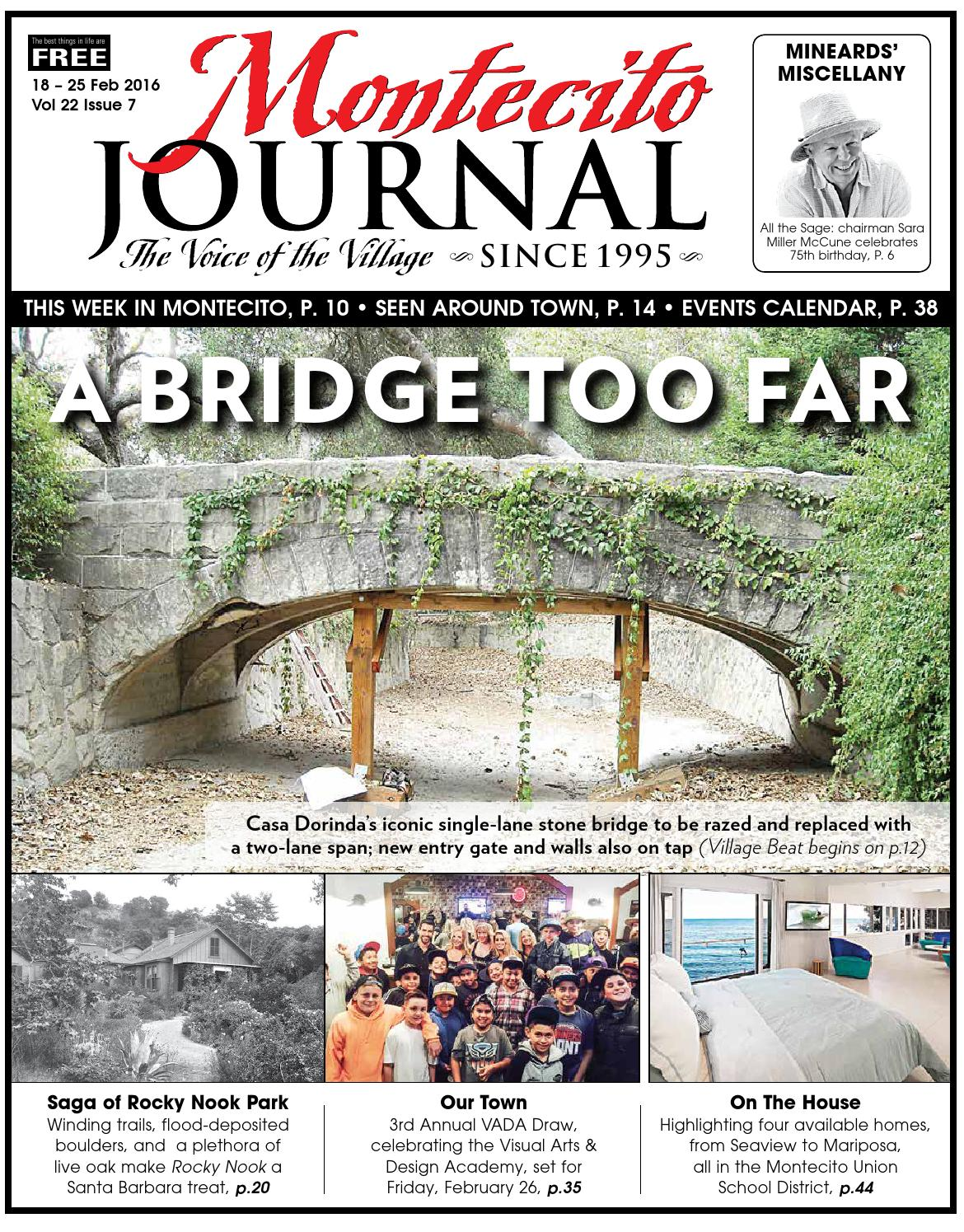 A bridge too far by montecito journal issuu sciox Images