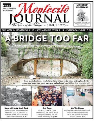 A Bridge Too Far By Montecito Journal Issuu