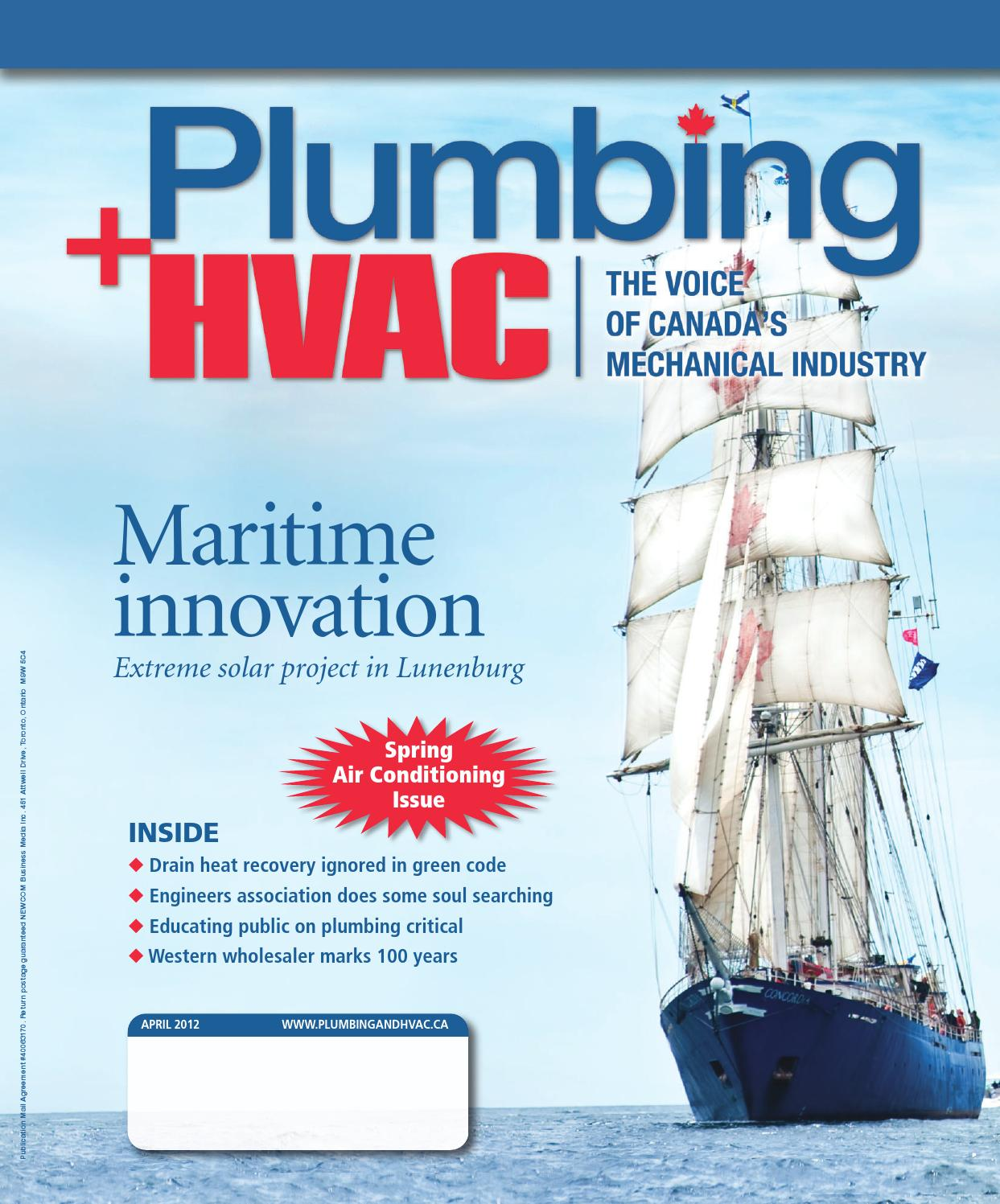 April 2012 by Plumbing and HVAC - issuu