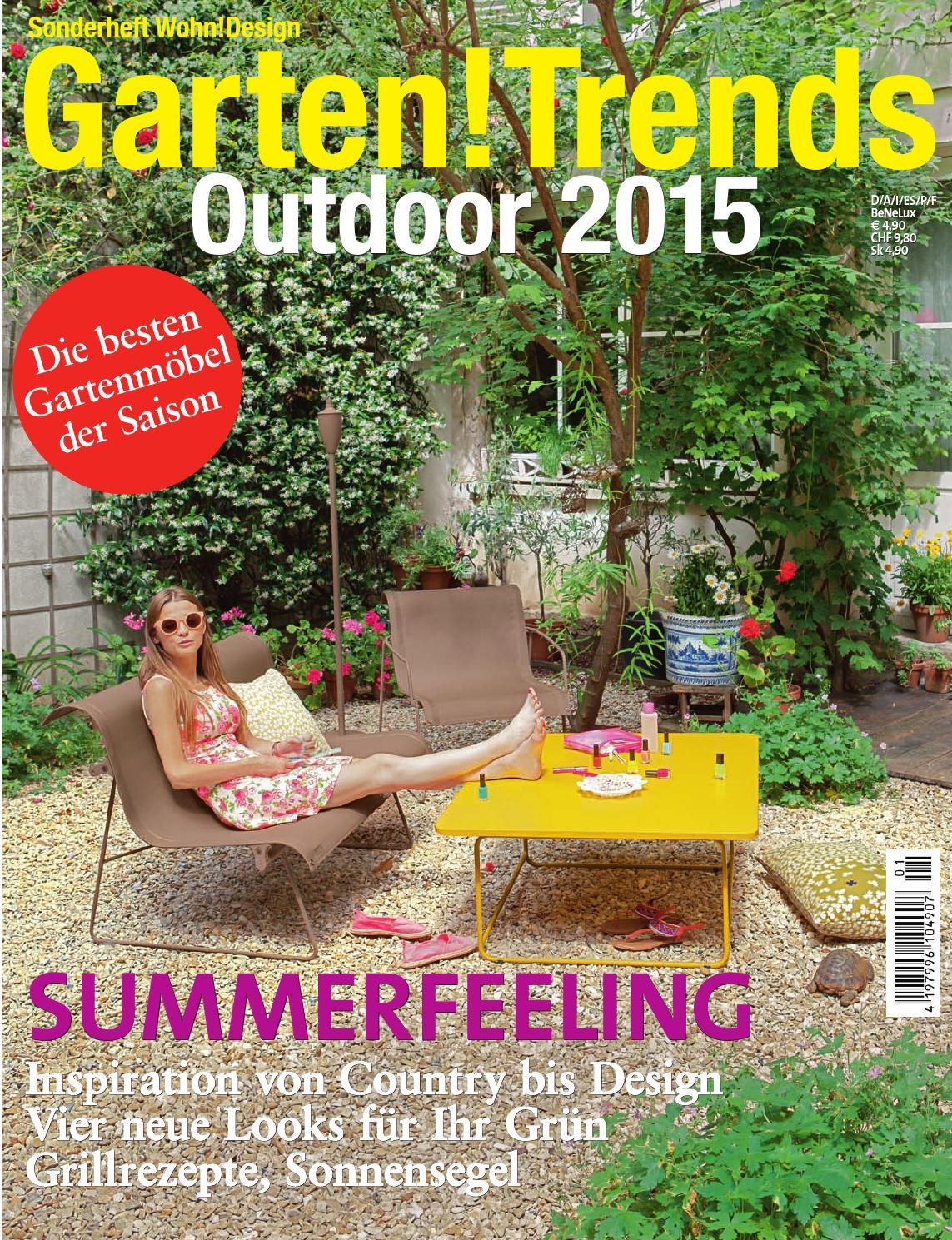 Schon Garten!Trends 2015 By Wohn!Design   Issuu
