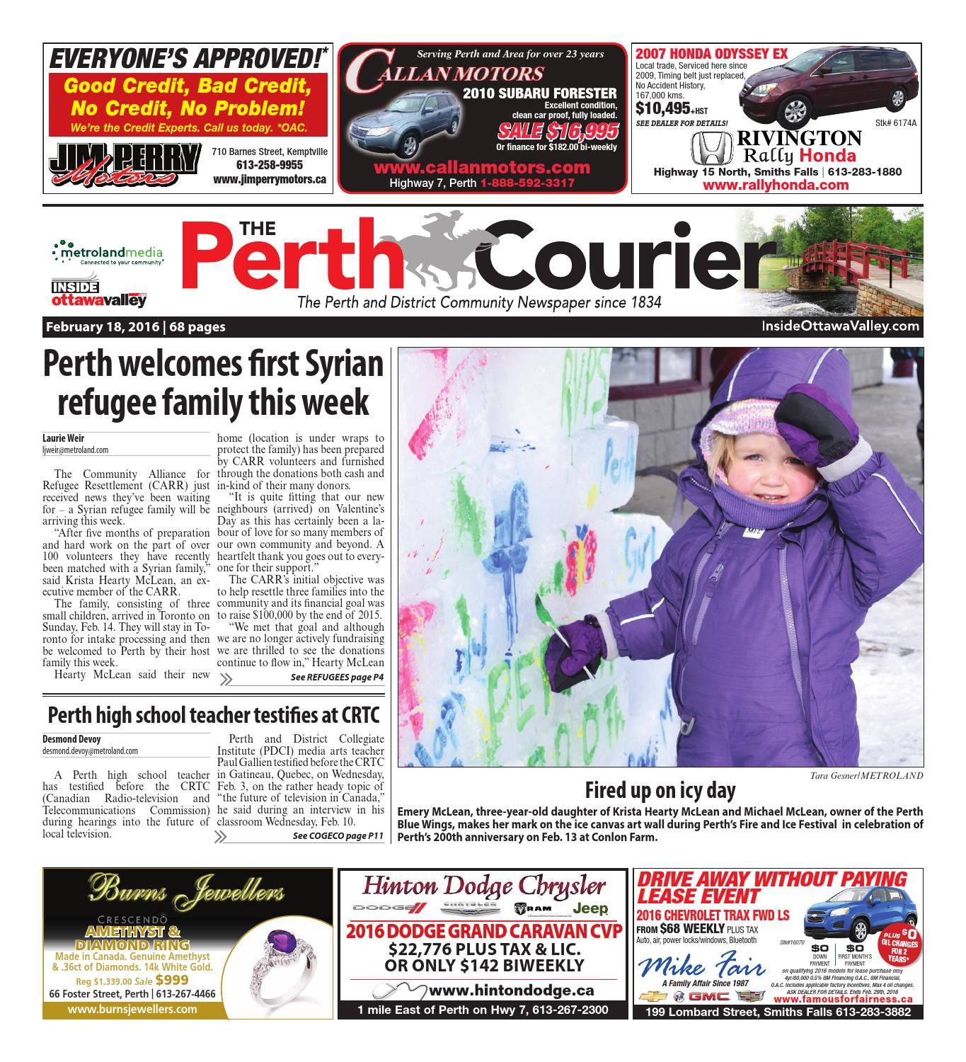 9249ddf26d8cd Perth021816 by Metroland East - The Perth Courier - issuu
