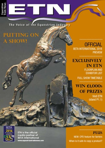dcff8ad8d98 ETN - Equestrian Trade News - January 2016 by ETN (Equestrian Trade ...