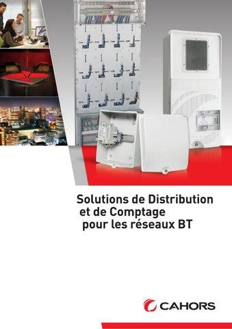 Solutions De Distribution Et De Comptage Pour Les Réseaux Bt