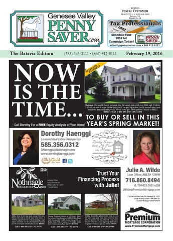 Batavia Edition 2/19/16 by Genesee Valley Publications - issuu