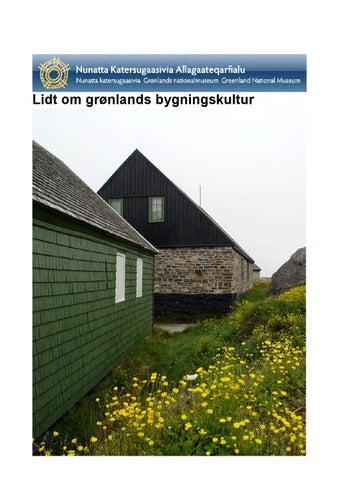 Gronlandsk Byggeskik By Nka Gl Issuu