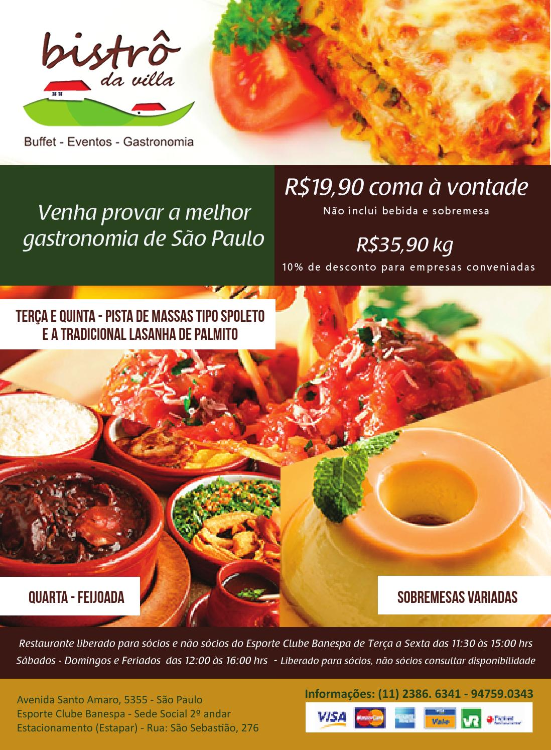 Flyer restaurante by priscilla mendes issuu for Ideas de almuerzos caseros