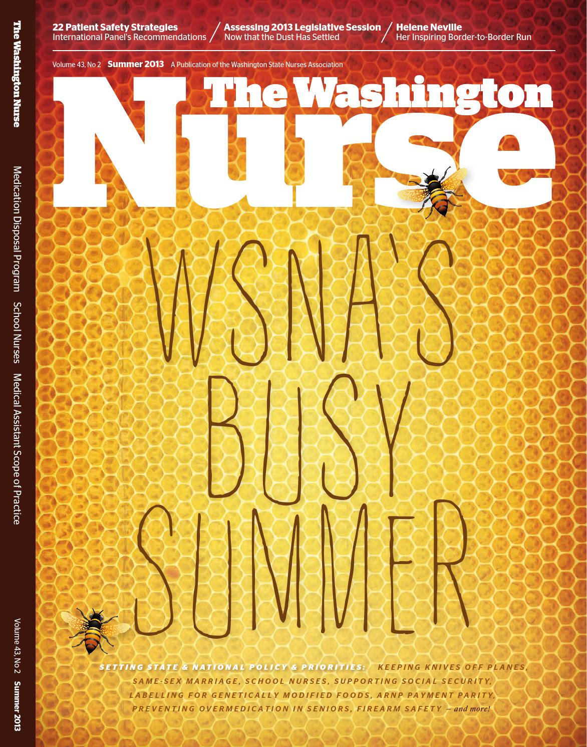 Washington Nurse Summer 2013 By Wsna Issuu