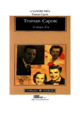 A sangre fría - Truman Capote by JPWolls - issuu d93163baab1