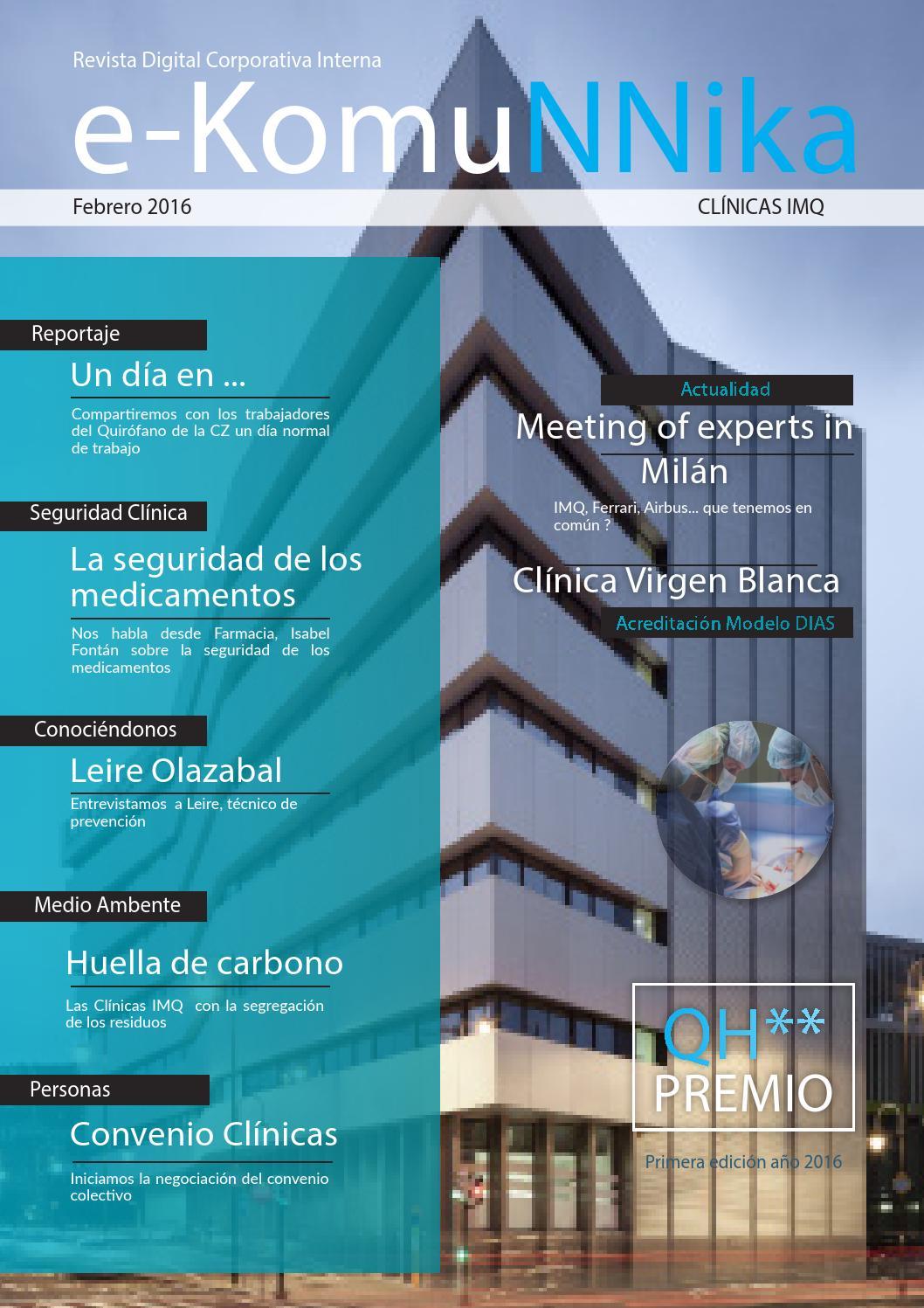 Revista digital clinicas imq febrero 16 by CLINICAS IMQ - issuu