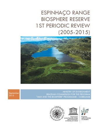 290b9c3aac ESPINHAÇO RANGE BIOSPHERE RESERVE 1st PERIODIC REVIEW (2005-2015) by ...
