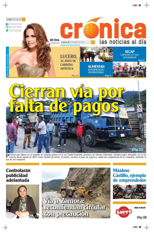 10ac7f76b 18febrero2016 9480 by Diario Crónica - issuu