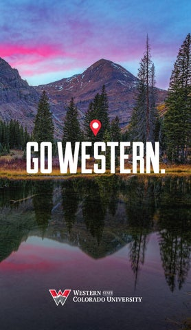 Western Colorado University >> Western State Colorado University Viewbook 2015 By Western