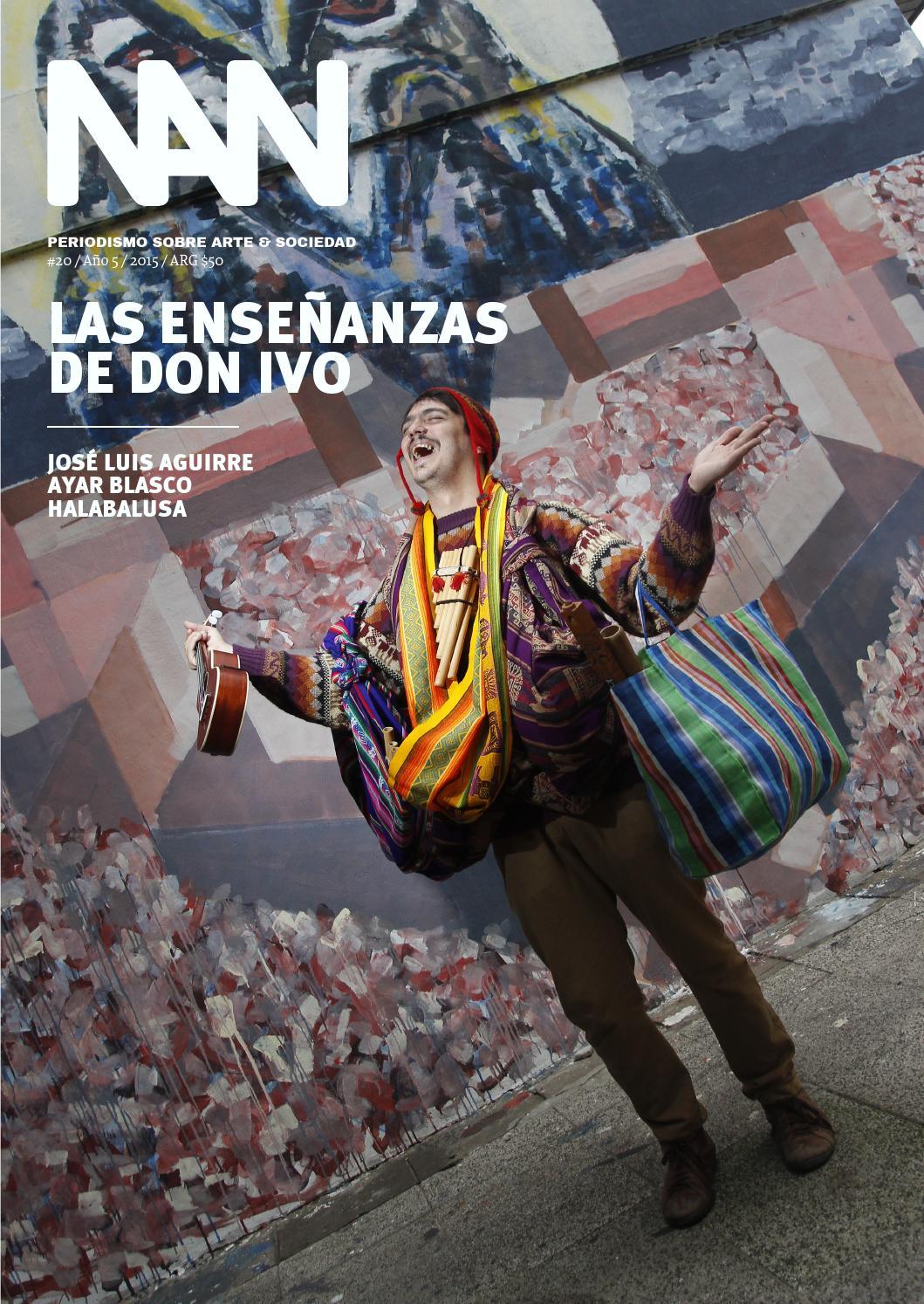 Revista NAN 20 by Martín Olivieri Valdez - issuu
