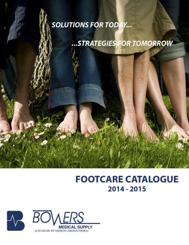 30c90528eca Footcare Catalogue by Bowers Medical Supply - issuu