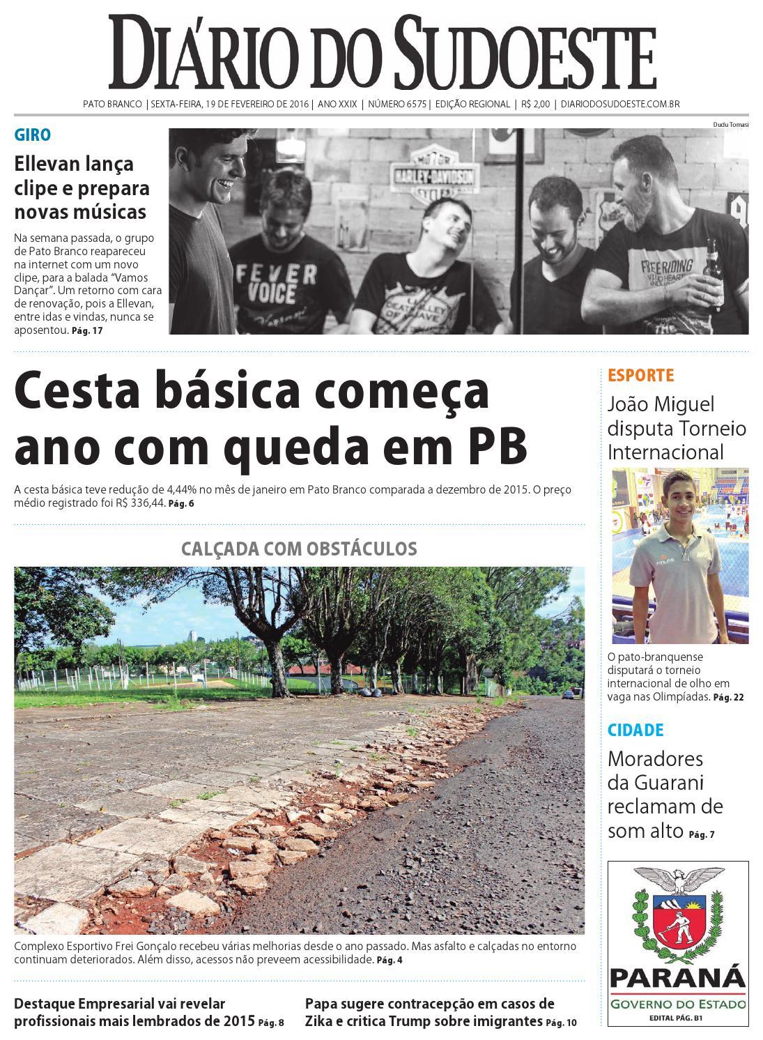 6bf4eac342702 Diário do sudoeste 19 de fevereiro de 2016 ed 6575 by Diário do Sudoeste -  issuu