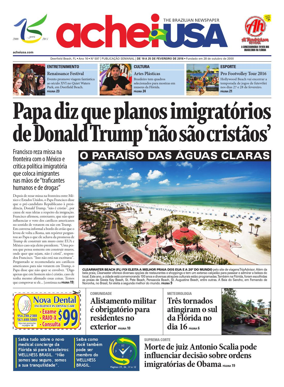 AcheiUSA 597 by AcheiUSA Newspaper - issuu 24b20a6021d0c
