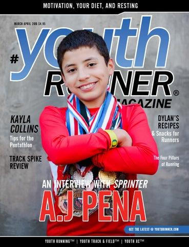 Youth Runner Magazine March April 2016 by Gosportz Media