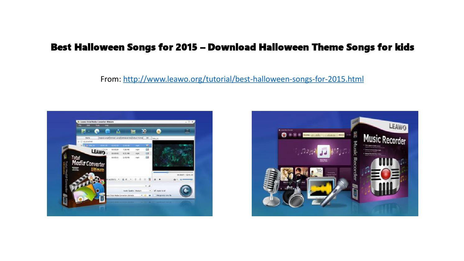 best halloween songs for 2015 download halloween theme songs for kids by timy li issuu