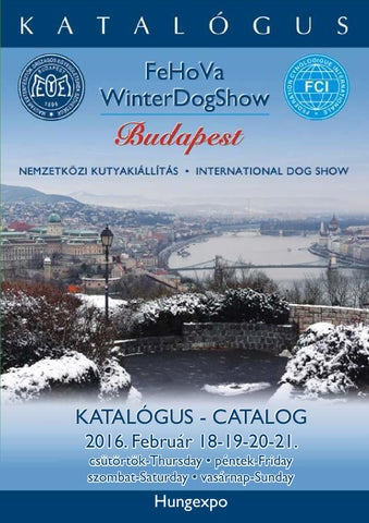 cb34037fdd FeHoVa Winter Dog Show 2016. február 18-21. by DOG SHOW (HU) - issuu