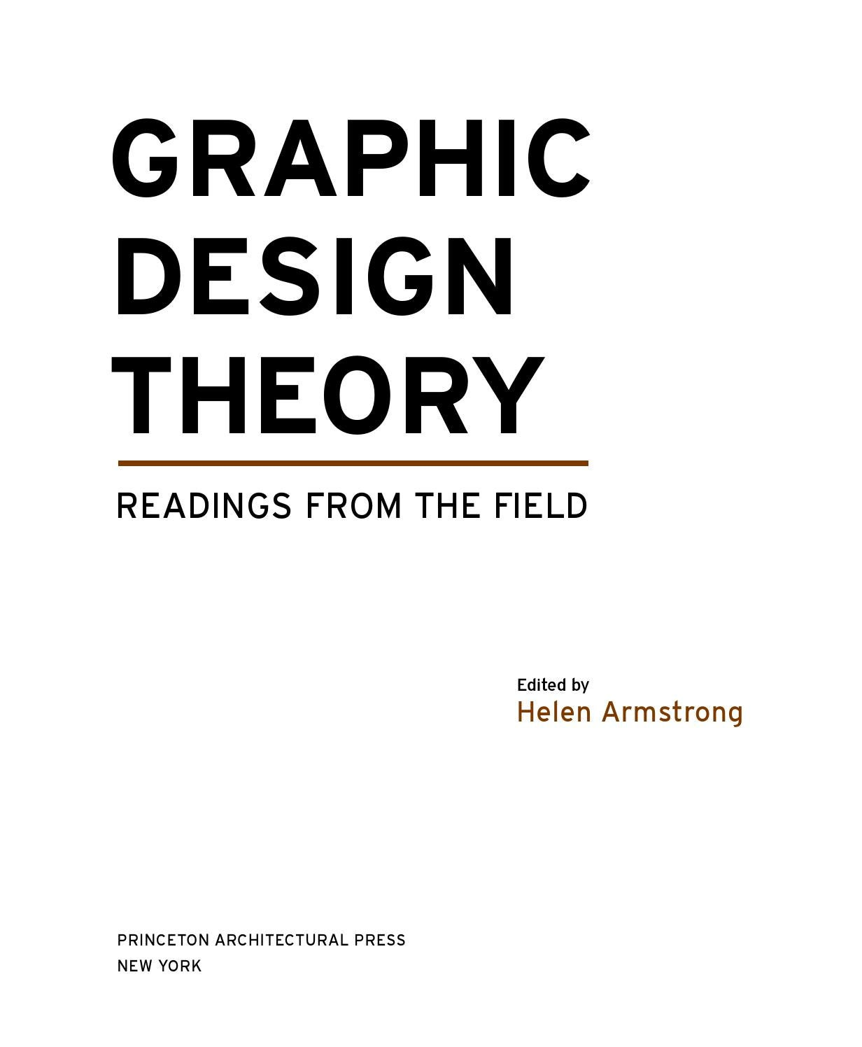 Workbooks golosa workbook : Graphic Design Theory: Readings from the Field by Byron Sin - issuu