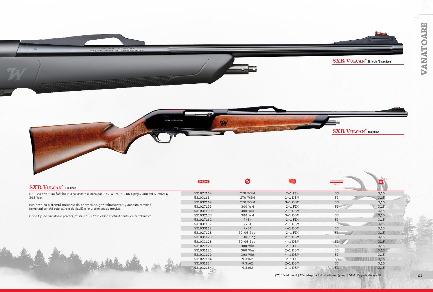 Catalog Winchester 2016 by Arrow International - issuu