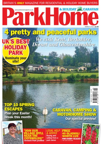 BRITAINS ONLY MAGAZINE FOR RESIDENTIAL HOLIDAY HOME BUYERS