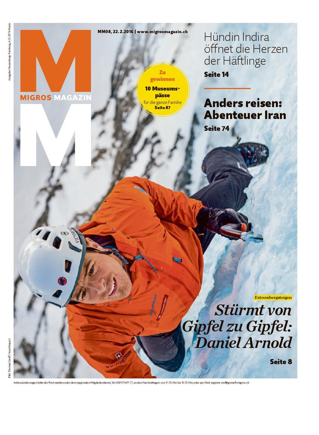 Migros magazin 08 2016 d ne by Migros-Genossenschafts-Bund - issuu