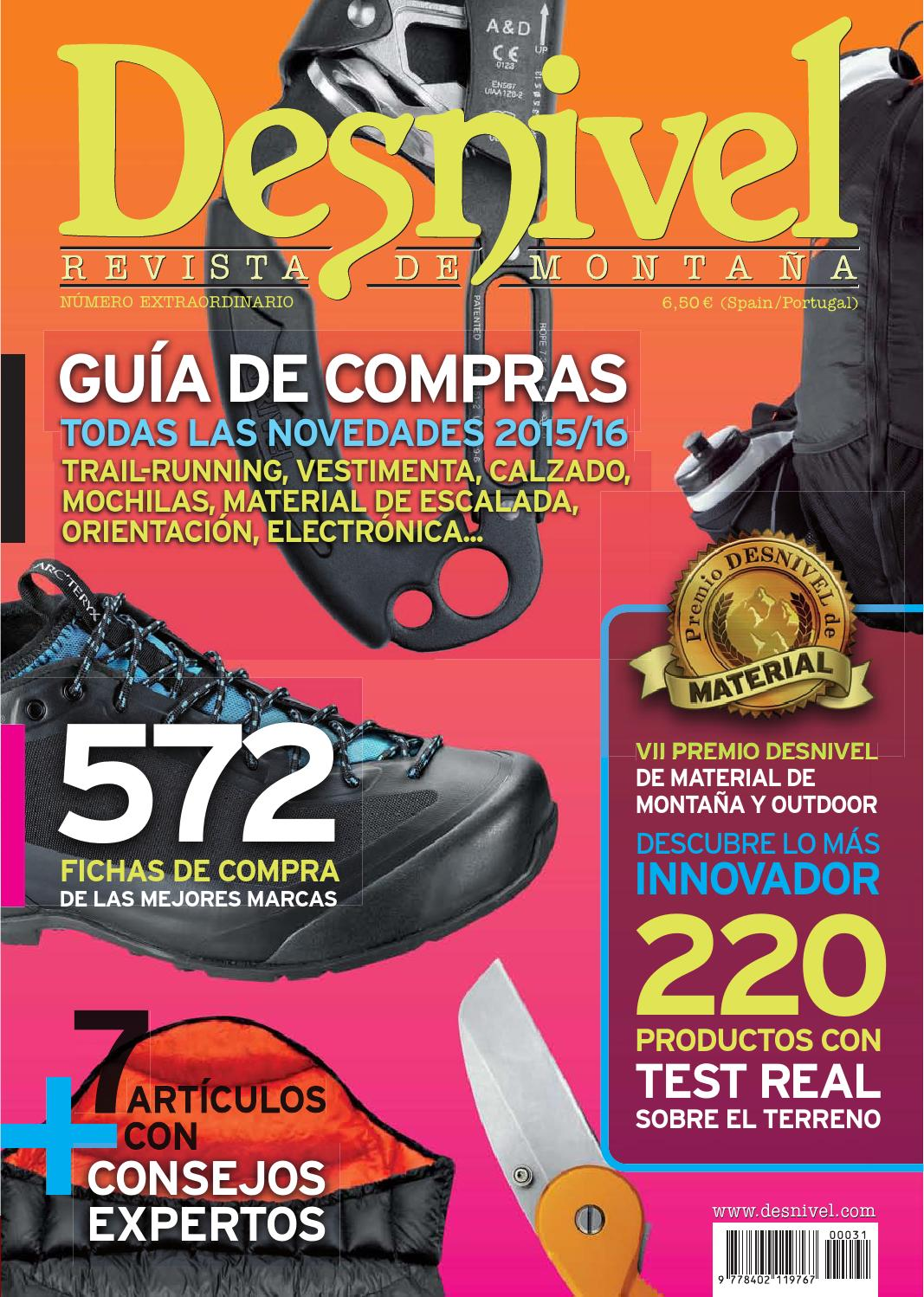 purchase cheap 3e494 e086d Especial Material 2015-2016 Desnivel by Ediciones Desnivel - issuu