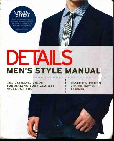 320814864f Dressing the man mastering the art of permanent fashion by salinas toledo -  issuu