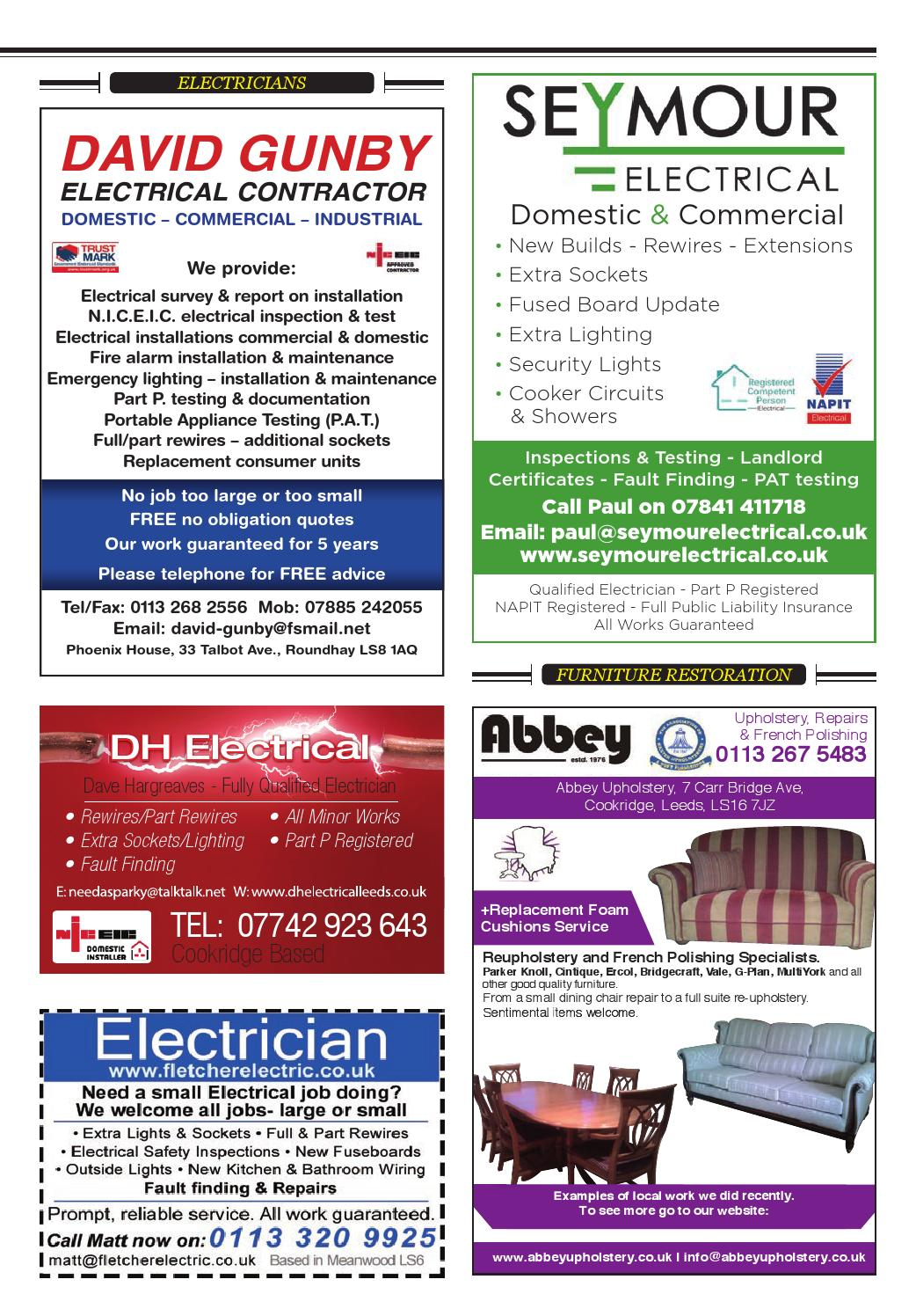 North Leeds Life Magazine March 2016 Edition Ls6 Ls16 Ls18 By Electric Shower Wiring An Consumer Unit Issuu