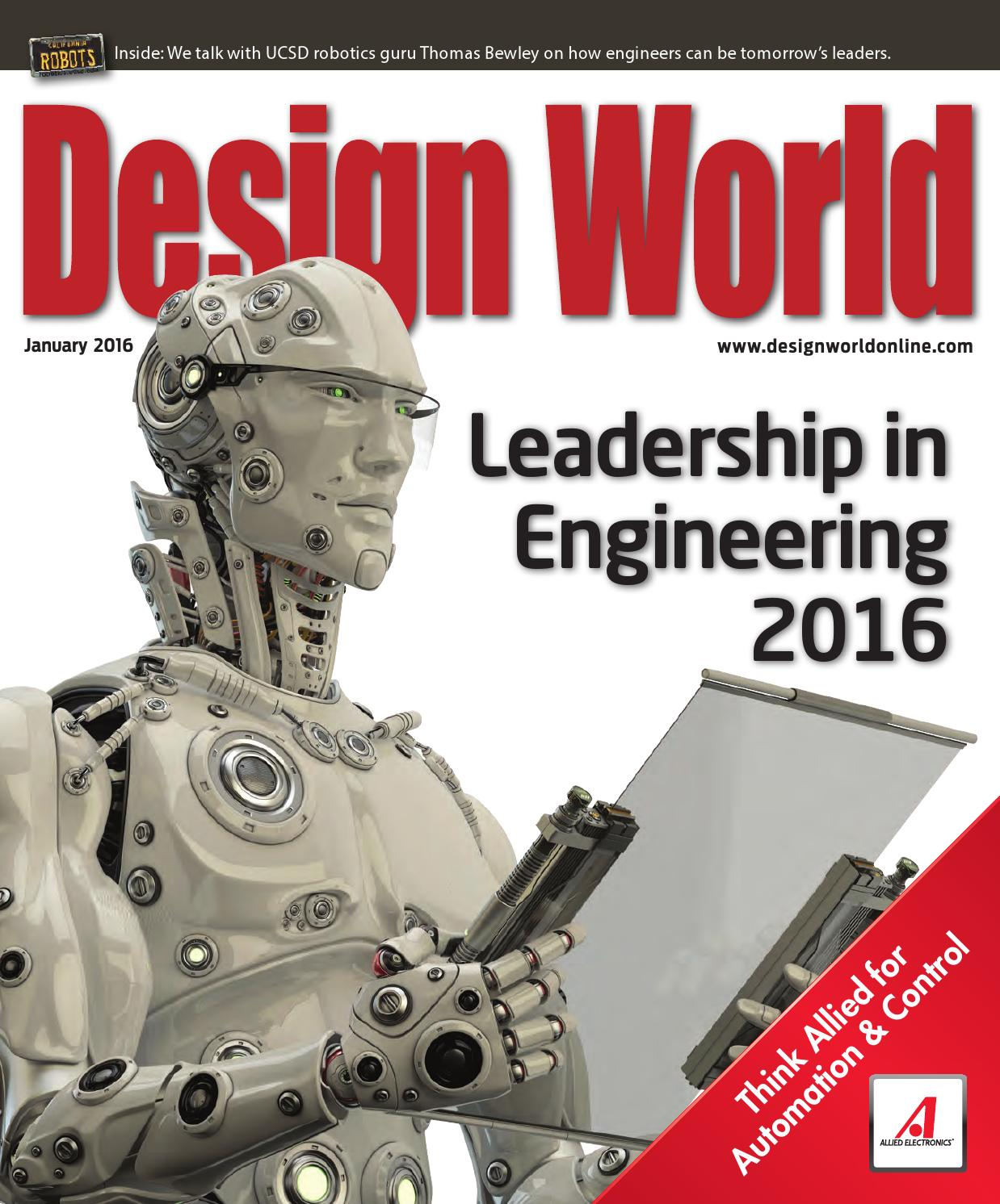 Design World January 2016 By Wtwh Media Llc Issuu Circuit Board With Fuse Potted Spade Electrode Connection Water Heater