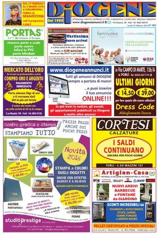 2ce28320bc Diogene Annunci 22|02 by Diogene Annunci - issuu