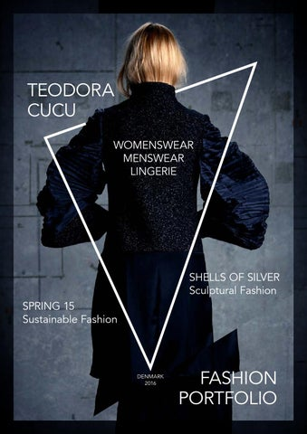 Fashion Design Portfolio By Teodora Cucu Issuu