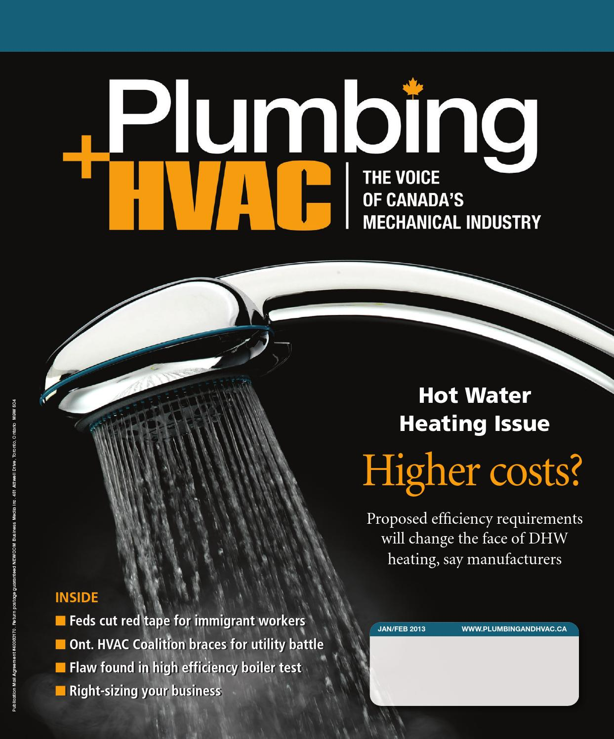 January/February 2013 by Plumbing and HVAC - issuu