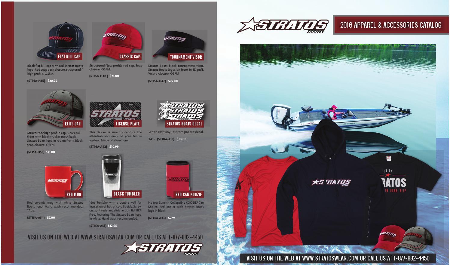 Stratos Wear Spring 2016 Catalog By Powertex Group Issuu