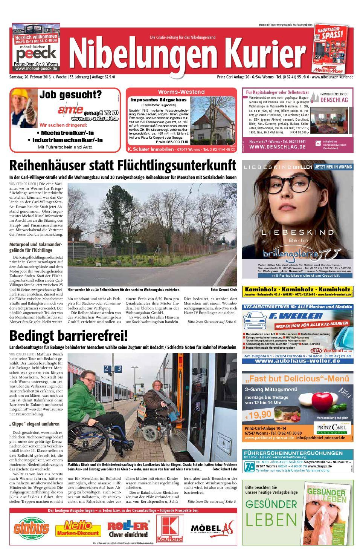 07sa16 Nibelungen Kurier By Nibelungen Kurier Issuu