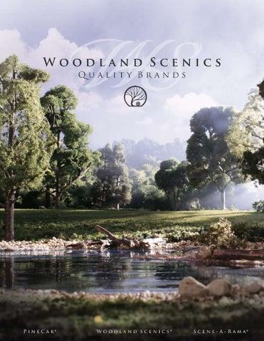 Catalogo general woodland scenics 2016 by Modelismo del Tren - issuu