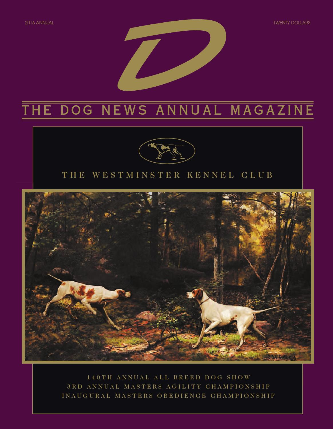 D 2016, The Dog News Annual Magazine by Dog News - issuu