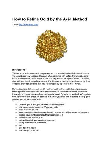 Subzero gold refining starter kit for alluvial gold | qte north.