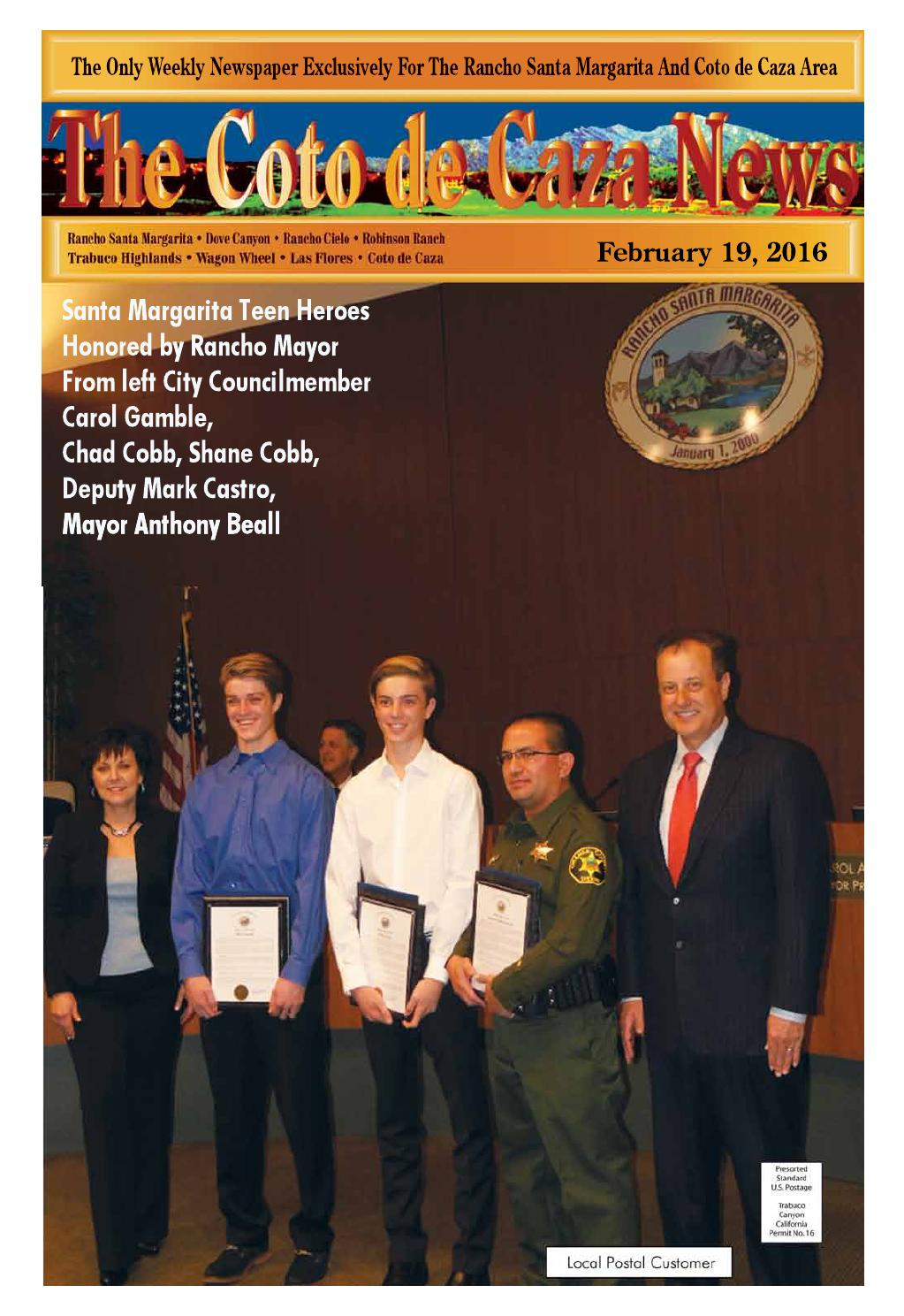 Coto 2 19 16 by Mission Viejo News Group - issuu