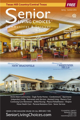Senior Living Choices   Texas Hill Country/Central Texas By Holly ...