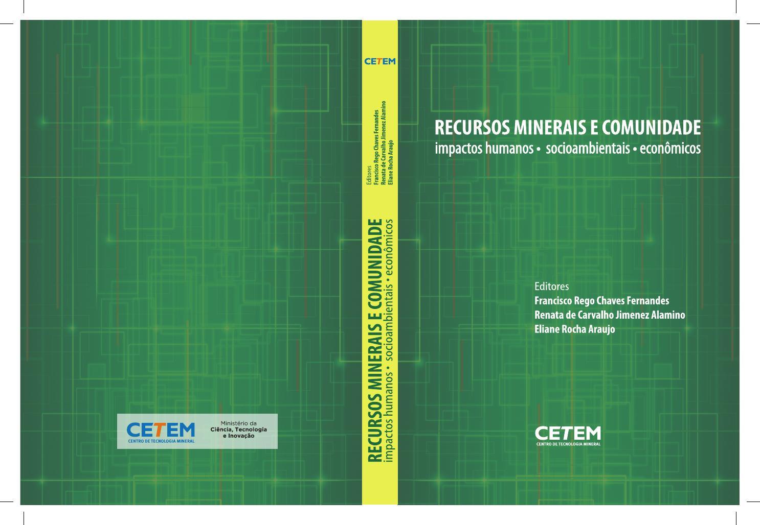 Recursos minerais e comunidade impactos humanos socioambientais e  economicos by Pesquisa Unificada - issuu 947853393a96d