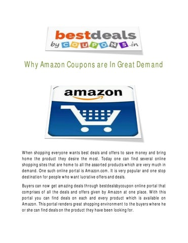 Why Amazon s are In Great Demand by Best Deals By s - issuu on