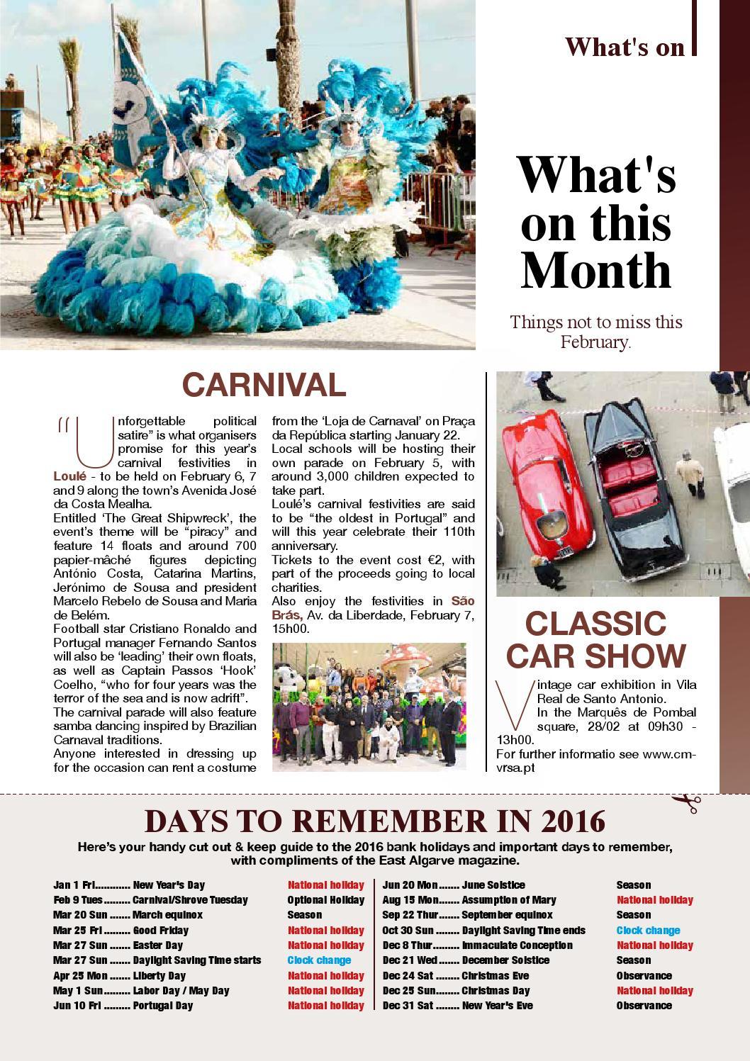 Feb16 East Algarve Magazine by Richard Bassett - issuu