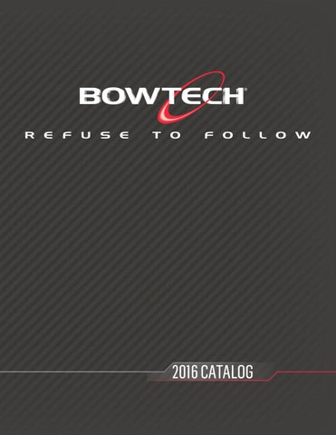 2016 Bowtech Archery Catalog by Bowtech Archery - issuu