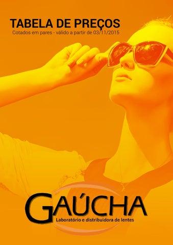 da95005103b12 Gaúcha Tabela by Mizael Lopes - issuu