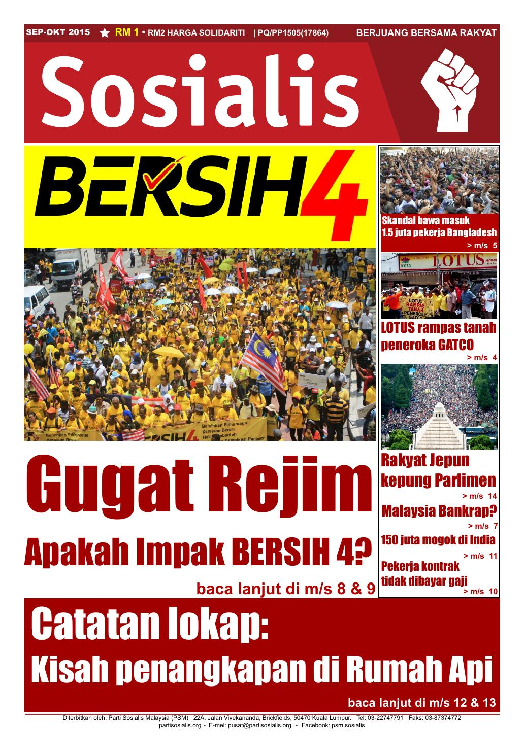 Sosialis Sept Okt 2015 By Partisosialis Issuu